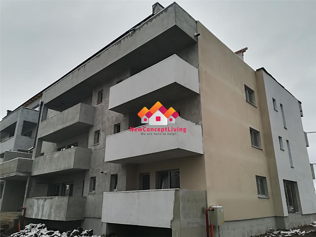 Apartament de vanzare in Sibiu, cu o terasa GENEROASA de 60 mp