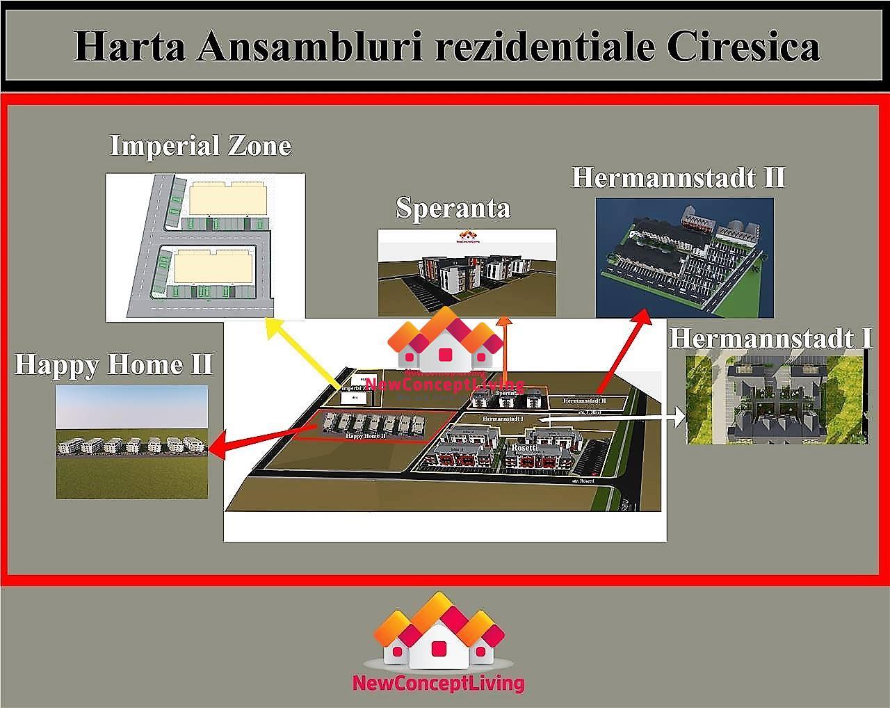 Apartament de vanzare in Sibiu - 3 camere si o terasa generoasa