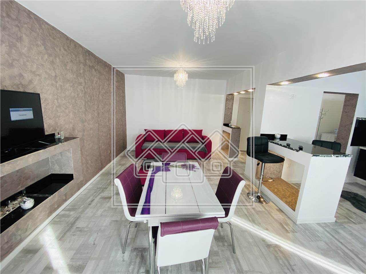 Apartament de vanzare in Sibiu-2 camere cu balcon-Selimbar