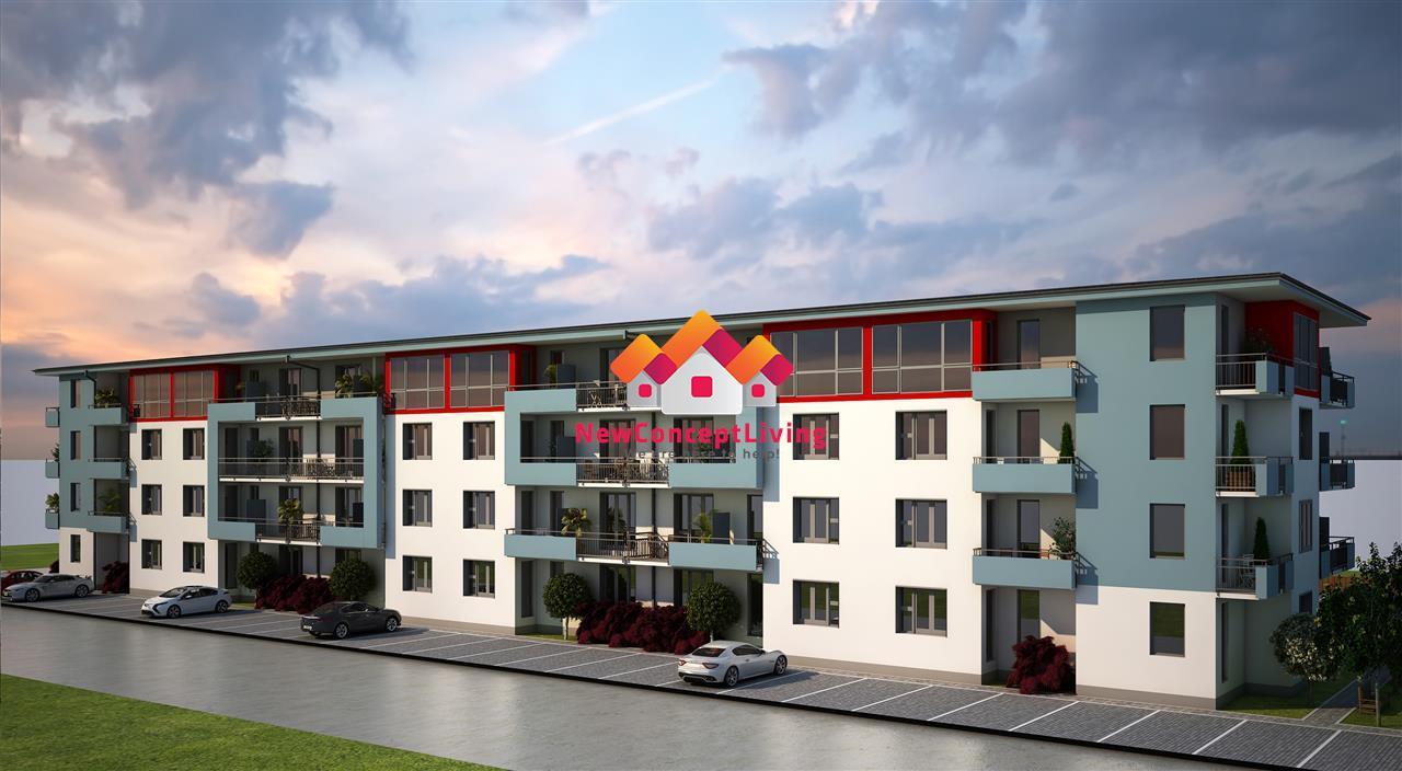 Garsoniera decomandata de vanzare in Sibiu - 32.3 mp si terasa de 6 mp