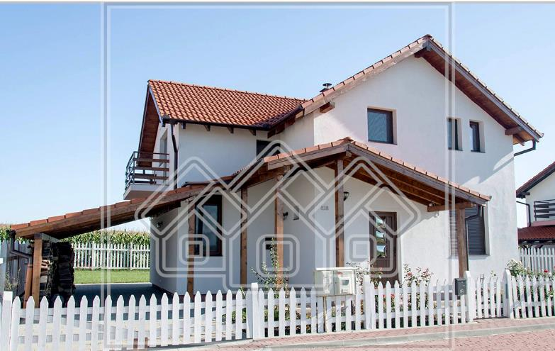 Casa de vanzare in Sibiu -INDIVIDUALA - 126 mp utili