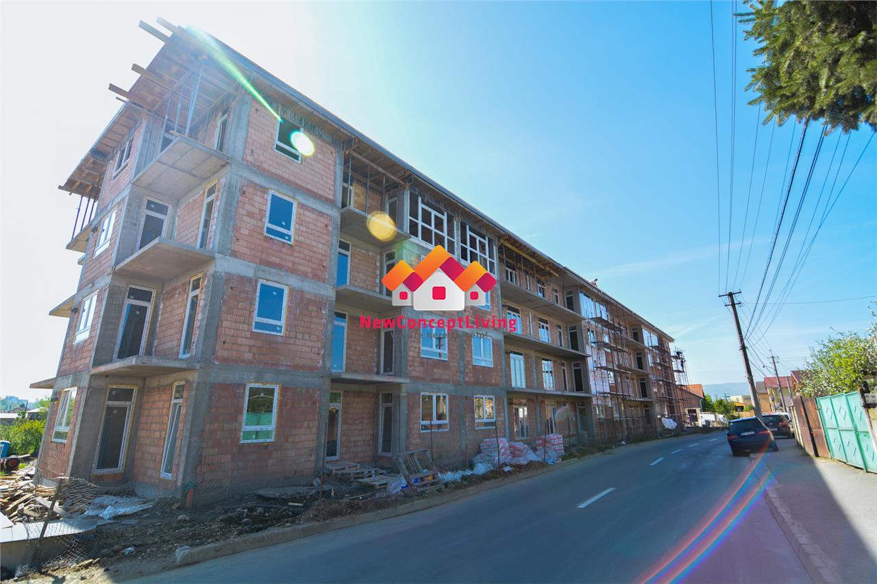 Garsoniera de vanzare in Sibiu - hibrid - 30.6 mp si terasa de 5.3 mp