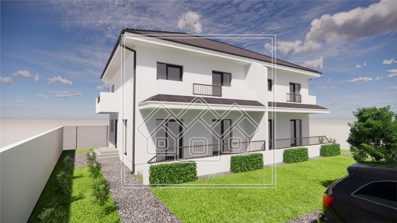 Casa de vanzare in Sibiu cu Gradina spatioasa si amenajata