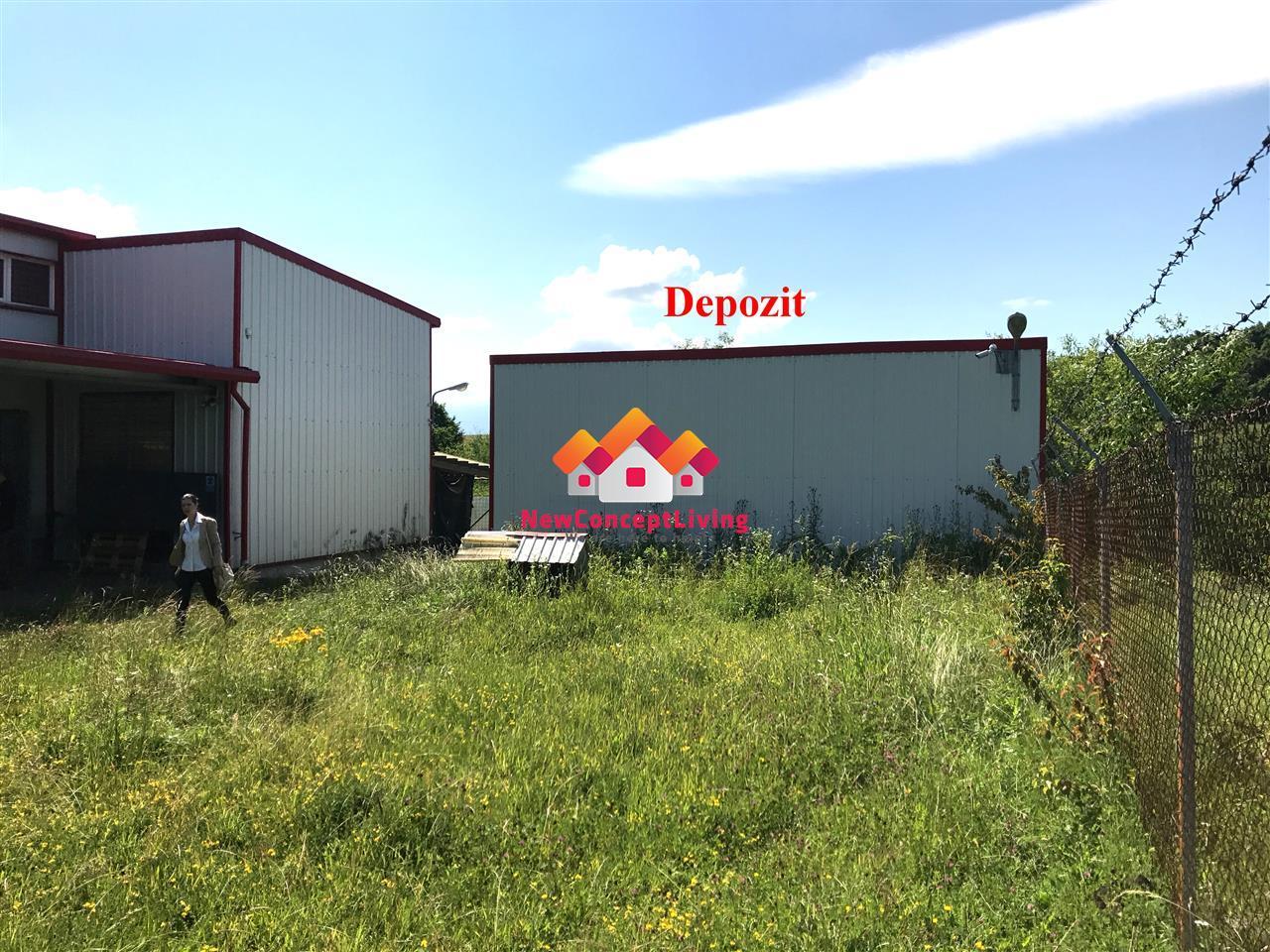 Spatiu comercial finalizat, pretabil productie sau comercial