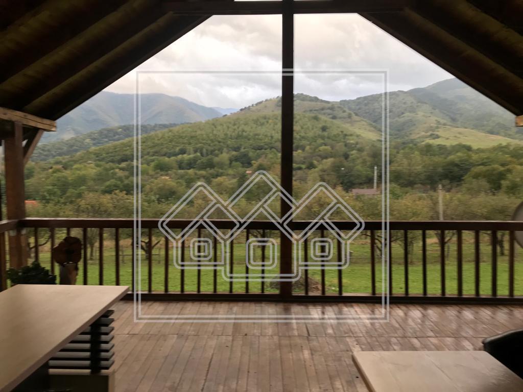 Casa de vanzare in Tocile - priveliste deosebita - 1.500 mp teren