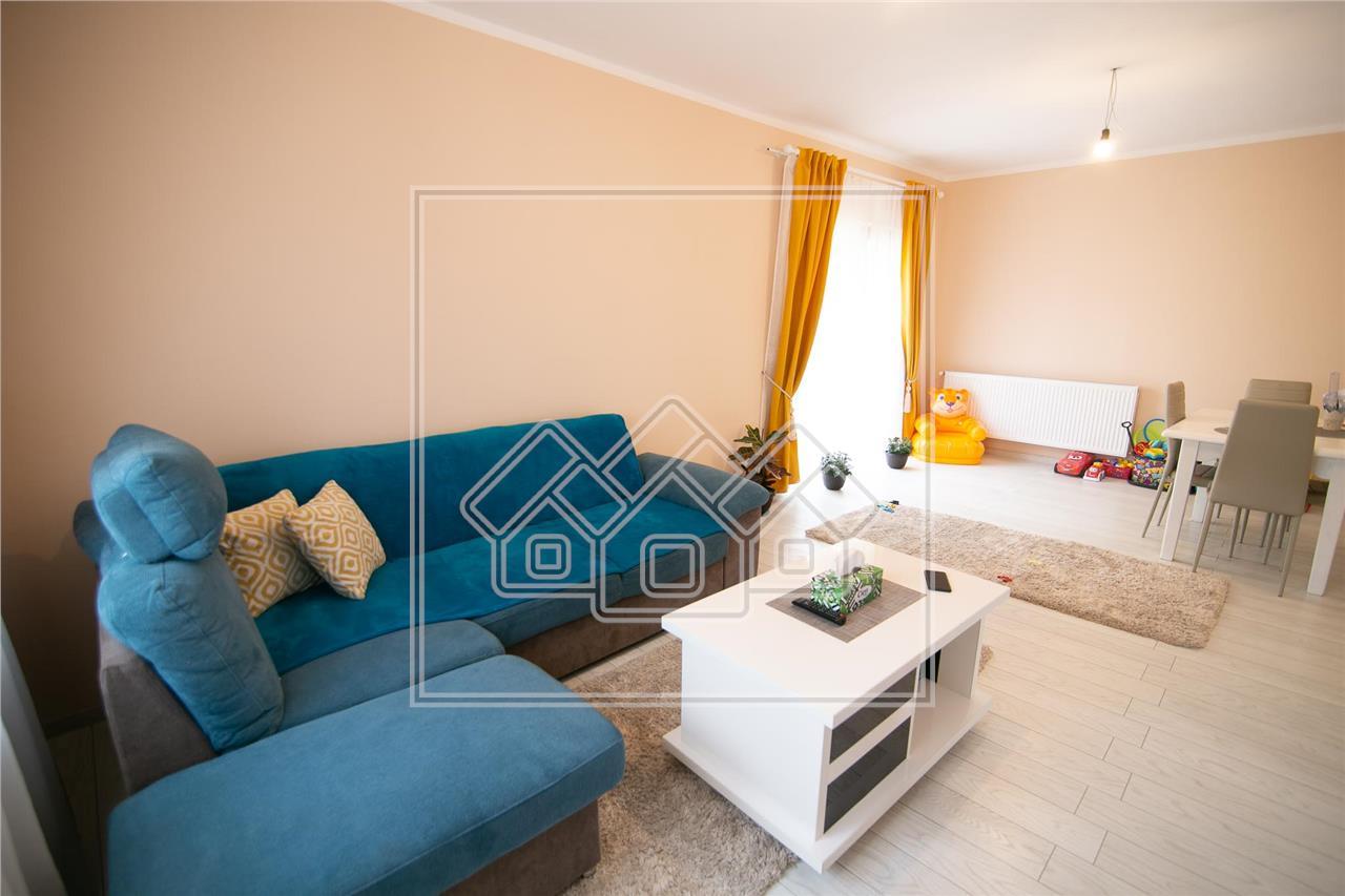 Casa de vanzare in Sibiu- tip duplex-106 mp utili