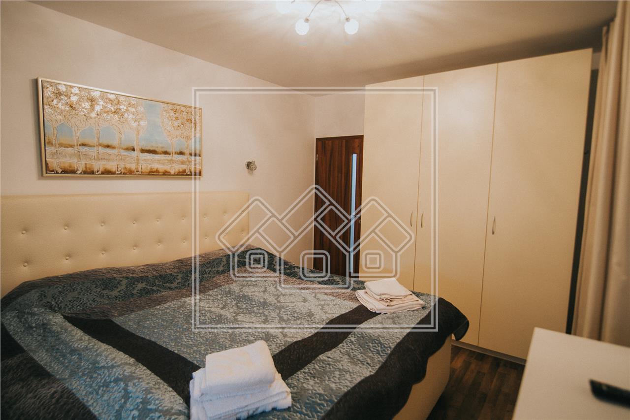 Apartament de vanzare in Sibiu-3 camere cu balcon si loc de parcare