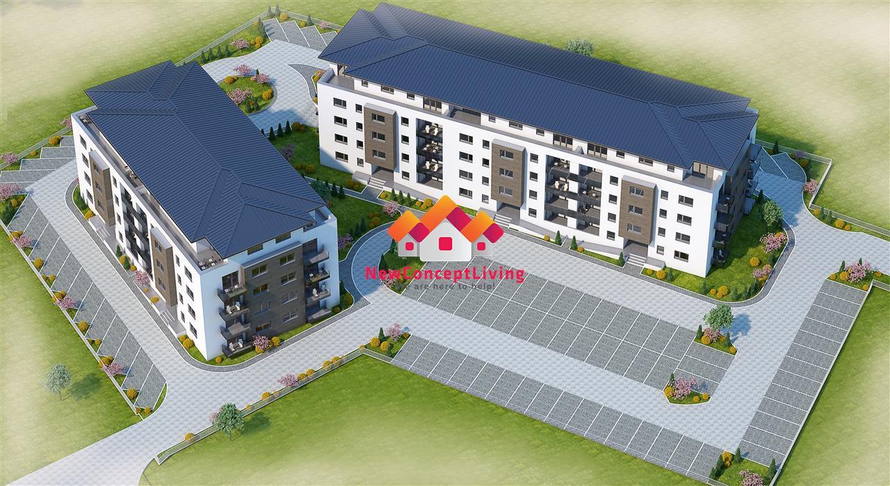 Apartament 3 camere Sibiu -PENTHOUSE NOU- zona centrala - Piata Cluj