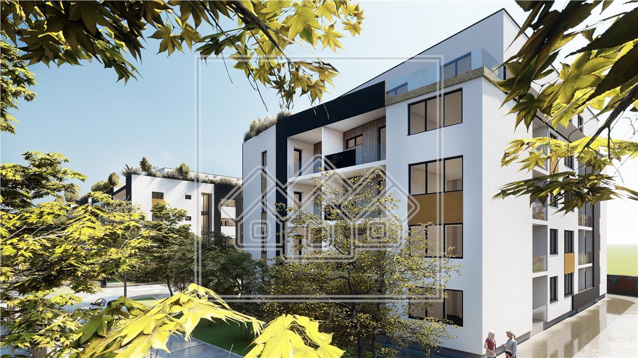 Penthouse de vanzare in Sibiu cu Terasa de 27 mp - Piata Cluj