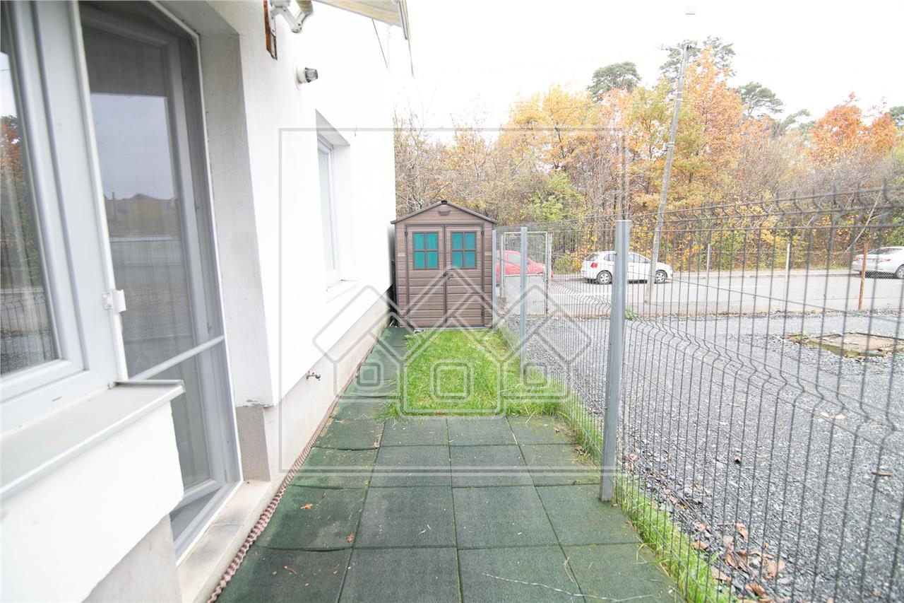 Apartament de inchiriere in Sibiu-3 camere cu gradina-Parcul Sub Arini
