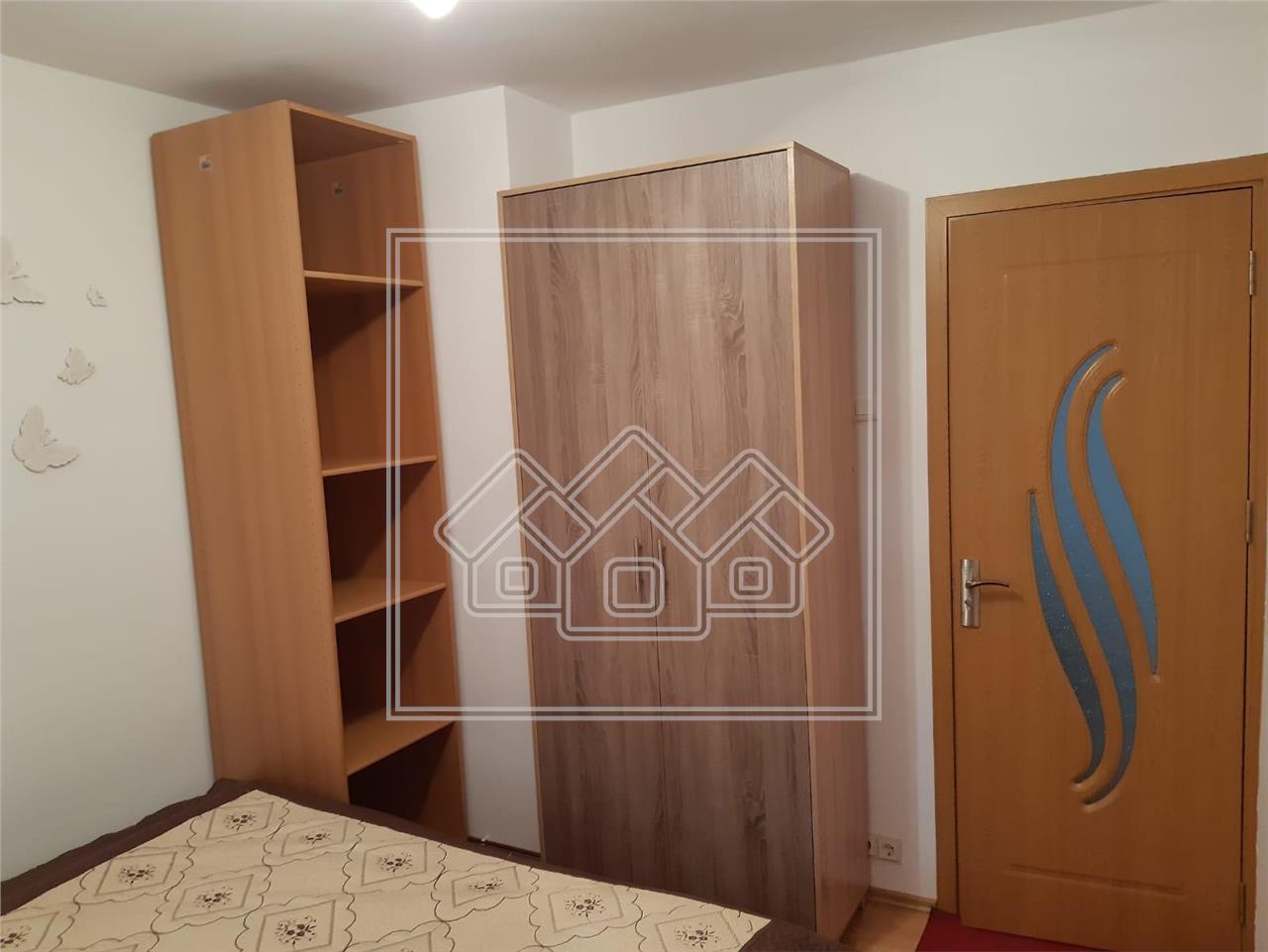 Apartament de inchiriat in Sibiu - 3 camere - etaj 2 - Aleea Biruintei