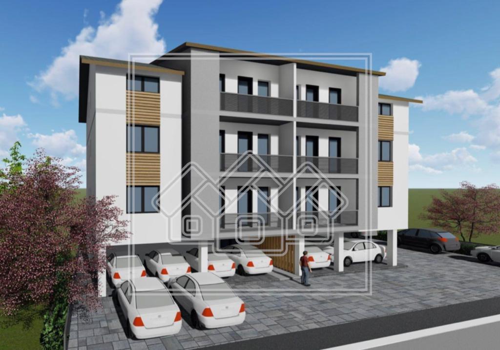 Apartament de vanzare in Sibiu cu 3 camere Gradina si Parcare