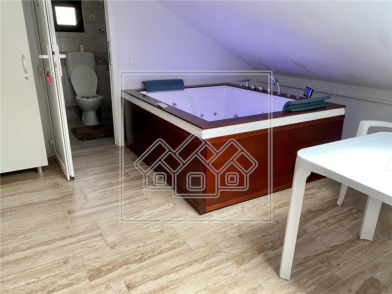 Casa de vanzare in Sibiu - 4 apartamente - prebabil regim hotelier
