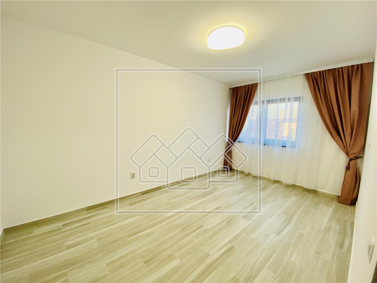 Apartament de vanzare in Sibiu - LA CHEIE - balcon, magazie si gradina
