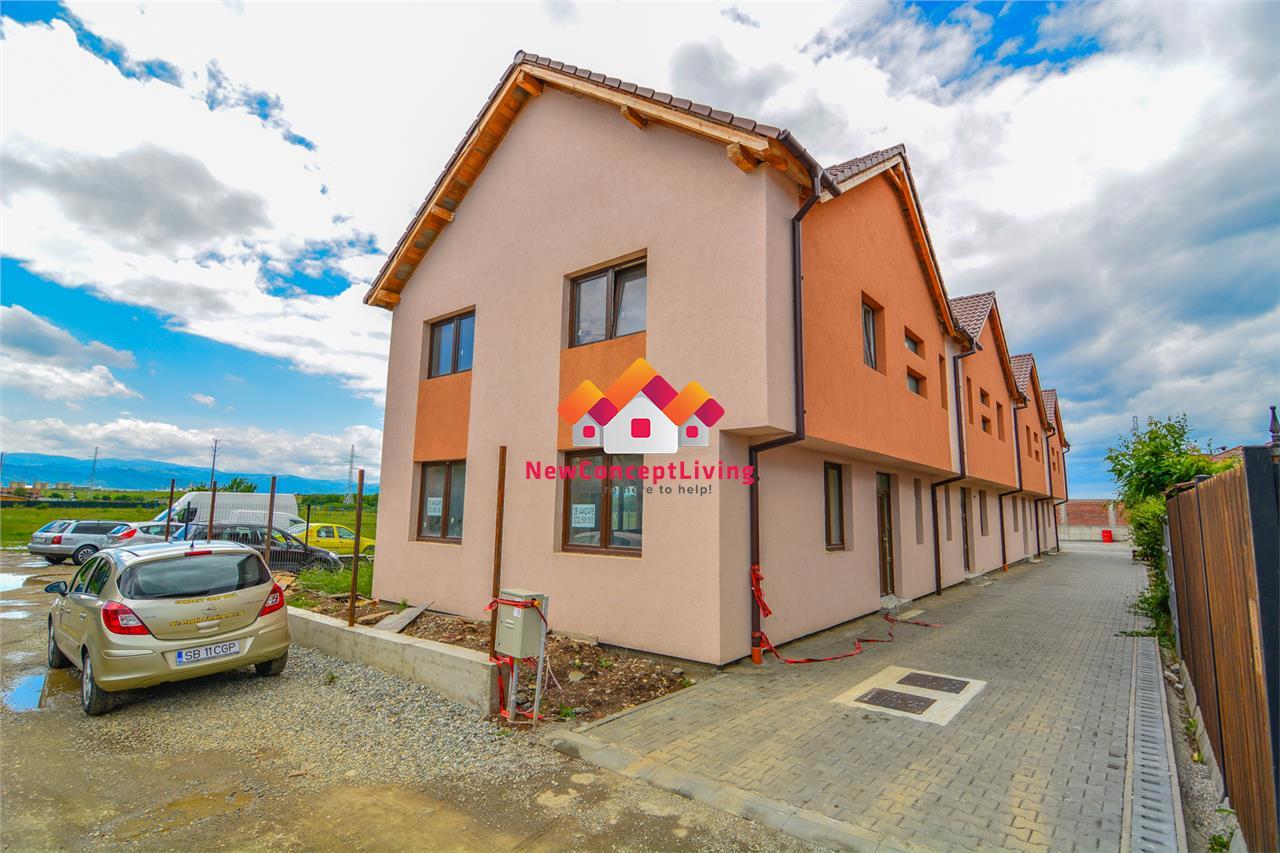 Casa de vanzare in Sibiu -4 camere -2 Balcoane + POD si Gradina