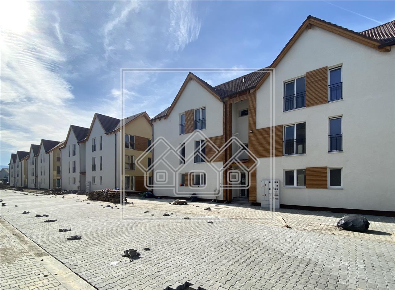 Apartament de vanzare in Sibiu - 3 Camere - Etaj 1 - La Cheie