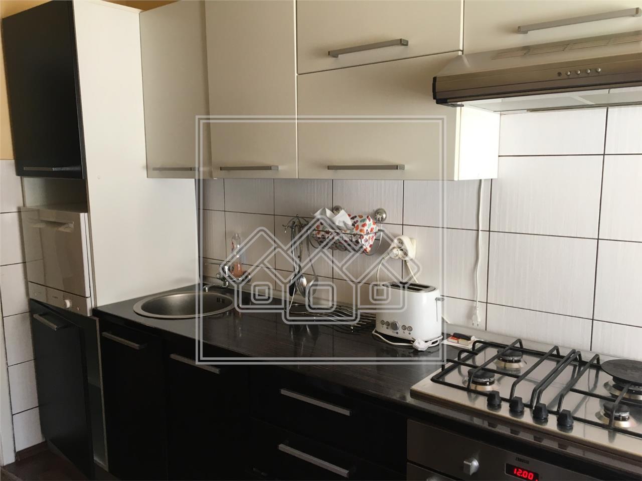 Apartament de inchiriat in Sibiu - 3 camere, pivnita, pod-Zona Garii
