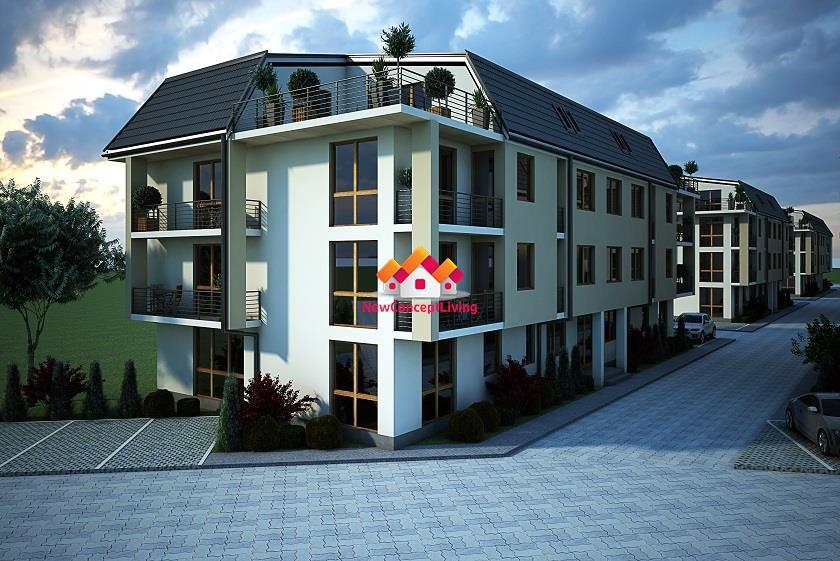 Apartament de vanzare Sibiu - 2 camere la vila - spatiu si confort