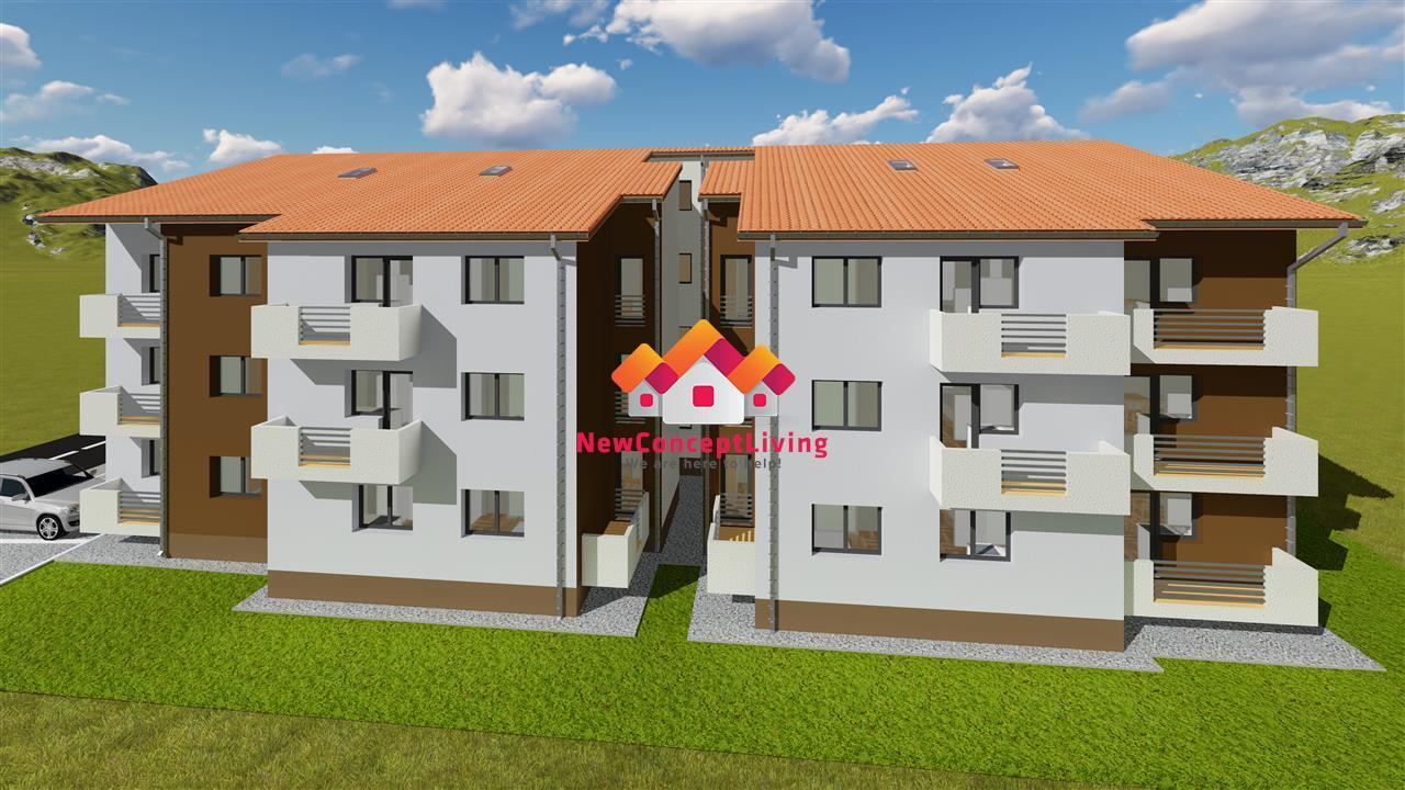 Apartament de vanzare in Sibiu- 37 mp utili plus balcon