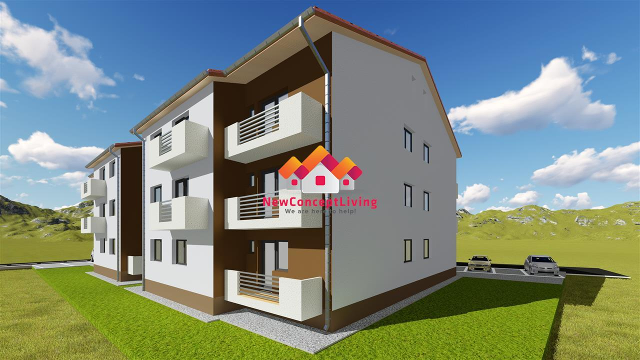 Apartament de vanzare in Sibiu- 2 camere, etaj intermediar