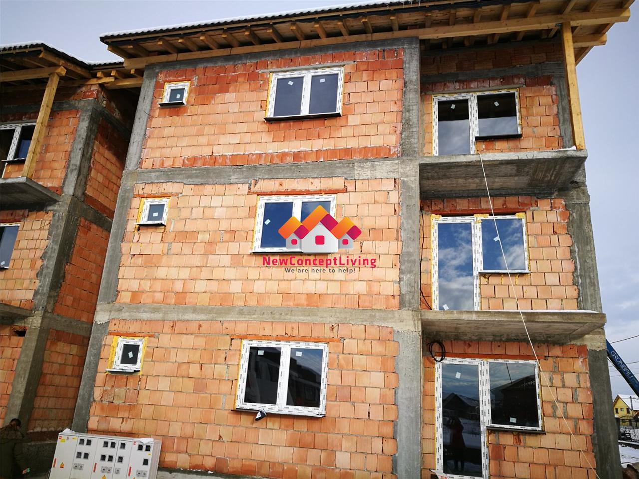 Apartament de vanzare in Sibiu, 3 camere, bine compartimentat
