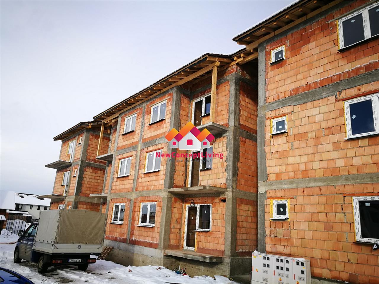Apartament de vanzare in Sibiu -3 camere si 2 balcoane-