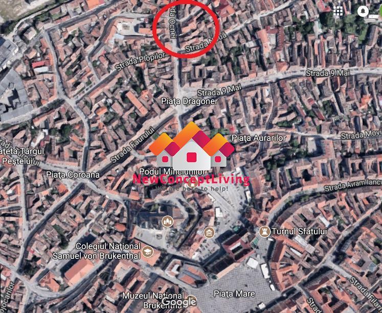 Apartament 2 camere de vanzare in Sibiu, la casa, Centru Istoric