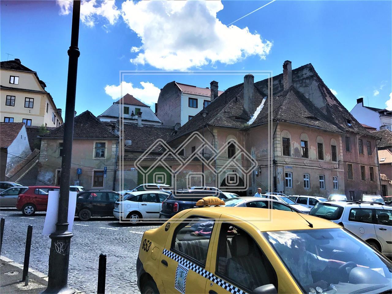 Spatiu de vanzare in Sibiu- ULTRACENTRAL -pretabil pensiune