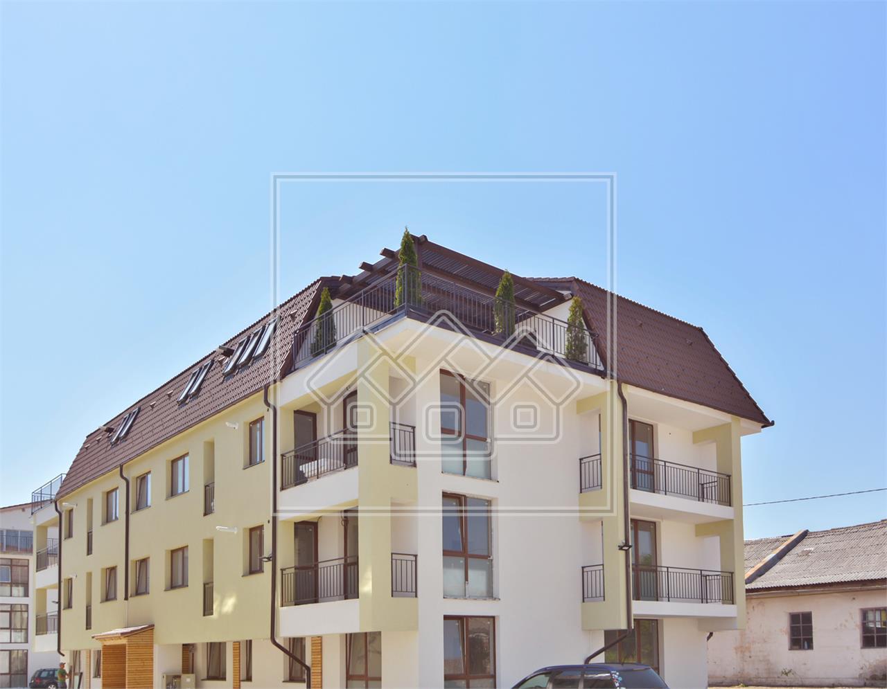 Penthouse zum Verkauf in Sibiu - freistehend - 4 Zimmer - Terrasse 32