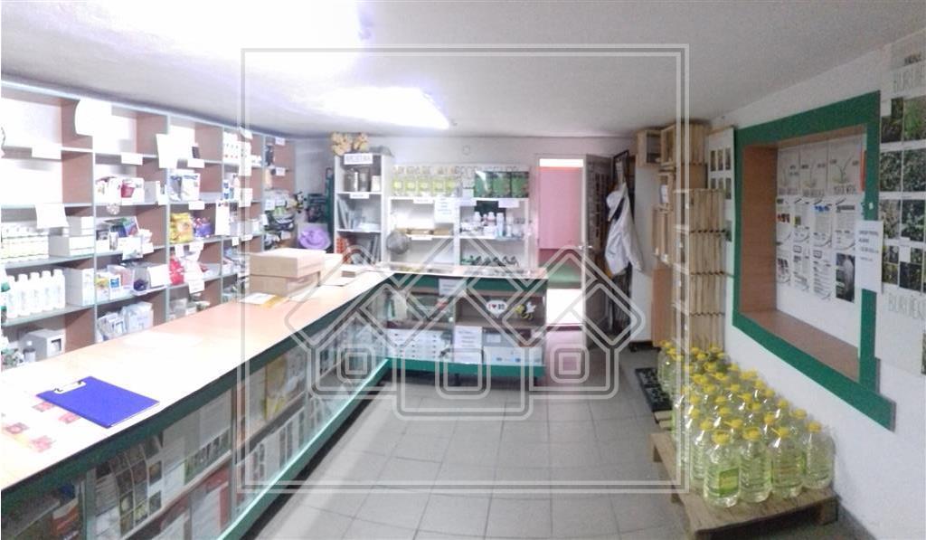 Spatiu comercial de inchiriat in Sibiu la curte, taxe incluse