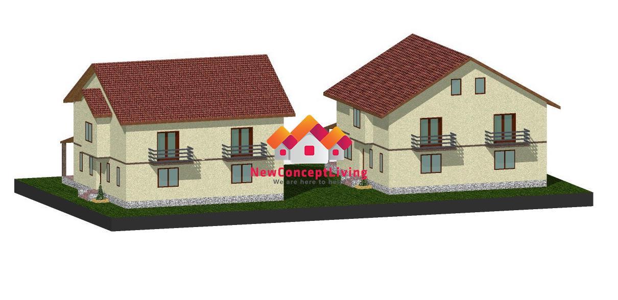 Casa de vanzare Sibiu -Strada Asfaltata-Parter + etaj + Pod - Gradina