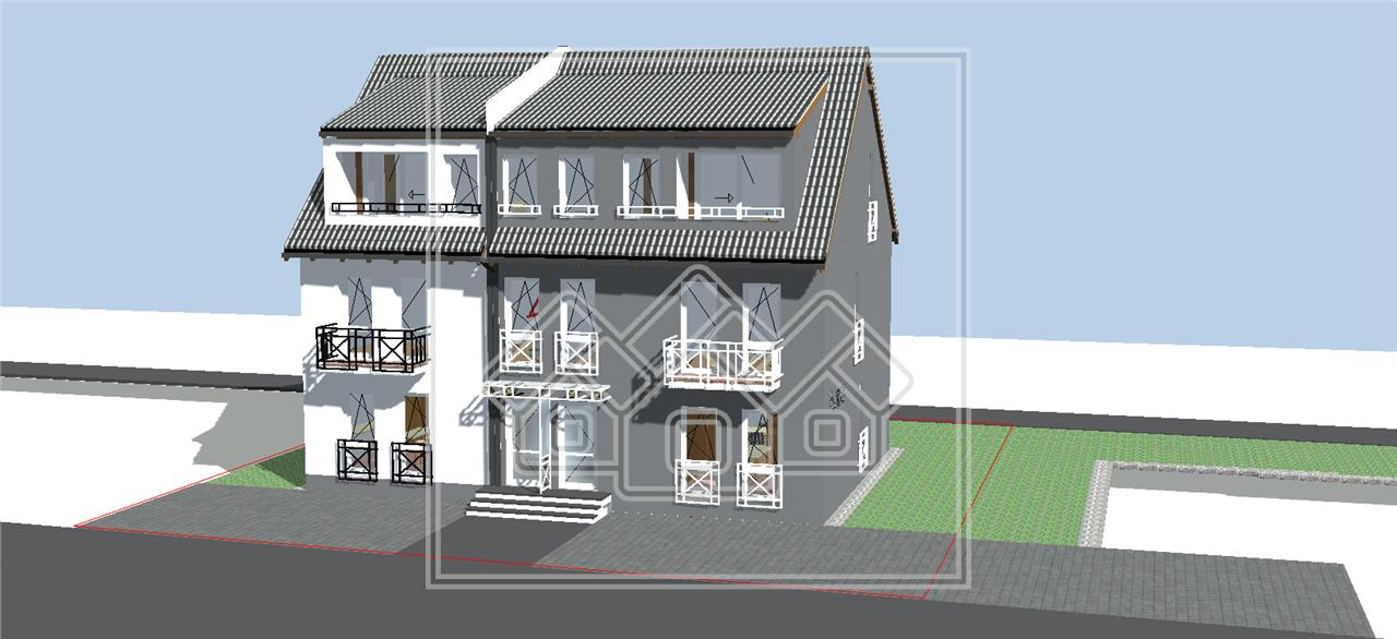 House for sale in Sibiu - Calea Cisnadiei - duplex type - 5 rooms