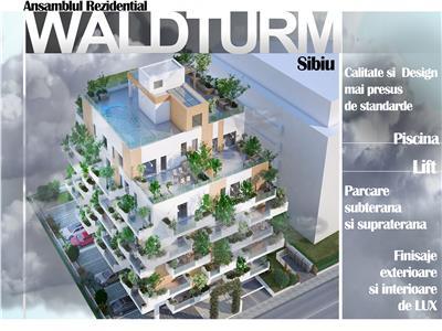 Apartament de vanzare cu 3 camere Lift si Boxa la subsol - Sibiu
