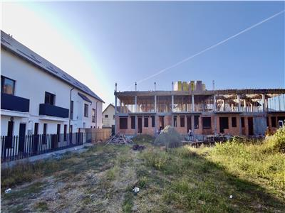 Das Ensemble von Häusern baute Calea Cisnadiei SIBIU