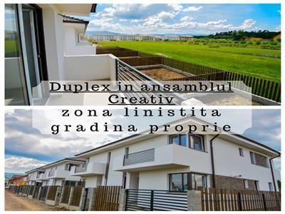 Ansamblul Rezidential - Creativ - Case tip Duplex - Imobiliare Sibiu