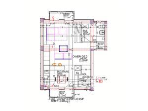 Wohnung zum Verkauf in Sibiu - 2 Zimmer - Calea Cisnadiei