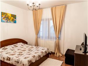 Apartament de vanzare in Sibiu - 3 camere - mobilat modern- V. Aurie