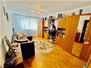 Apartament de vanzare in Sibiu -2 camere cu balcon- Vasile Aaron