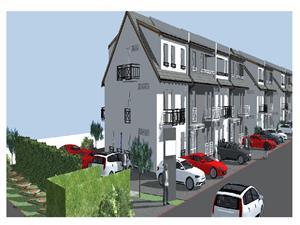 Apartament 3 camere de vanzare in Sibiu - gradina 100mp - vila cocheta