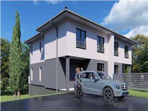 Casa de vanzare in Sibiu - Cisnadie - utilitati incluse - tip duplex