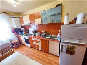 Apartament de vanzare in Sibiu - 3 camere, pivnita - Stefan Cel Mare