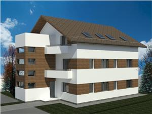 Apartament de vanzare in Sibiu -3 camere-predare la alb-C.Arhitectilor