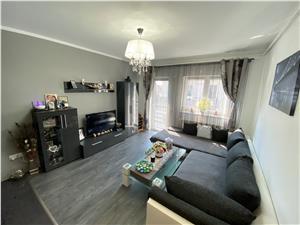Apartament de vanzare in Sibiu - 3 camere cu 2 balcoane - C.Cisnadiei