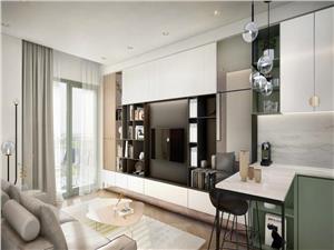 Apartament de vanzare in Sibiu - 2 camere - terasa si gradina