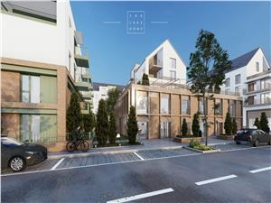 Wohnung zum Verkauf in Sibiu - 2 Zimmer - Terrasse und eigener Garten
