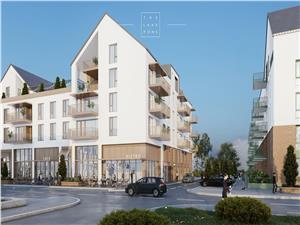 Wohnung zum Verkauf in Sibiu  - Geb?ude mit Aufzug