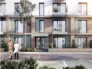 Apartament de vanzare in Sibiu - balcon - incalzirea in pardoseala