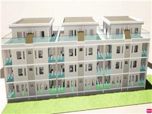 Apartament de vanzare in Sibiu - 2 camere - gradina 55mp