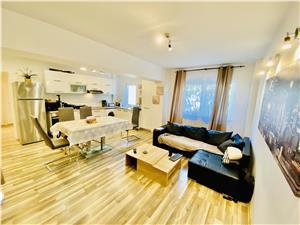 Apartament de inchiriat in Sibiu -3 camere, 2 bai si balcon- Terezian