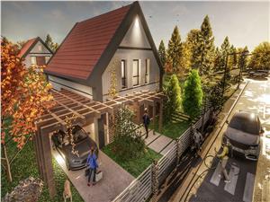 Casa de vanzare in Sibiu - Talmaciu - ansamblu rezidential nou